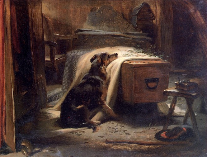 landseer_edwin-old_shepherds_chief_mourner_1837