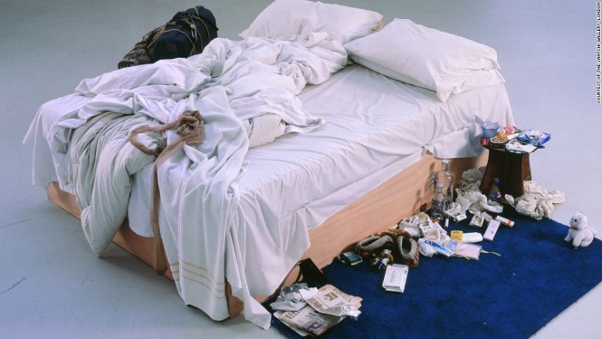 Emin Unmade Bed