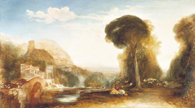 Palestrina - Composition 1828, exhibited 1830 by Joseph Mallord William Turner 1775-1851